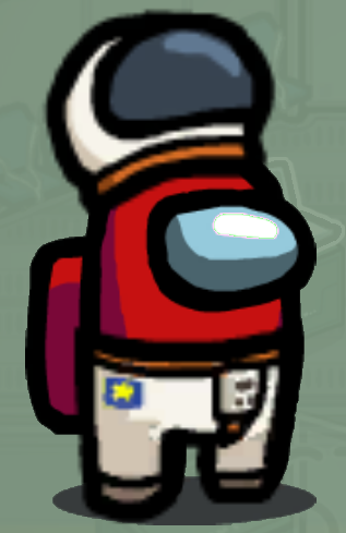Astronaut Hat Skin Among Us