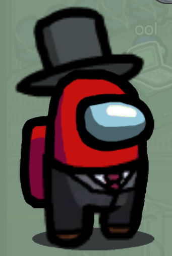 Top Hat Skin Among Us