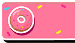 Donut Nameplate Skin Fall Guys