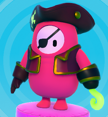 Ecto Pirate Color Skin Fall Guys