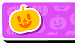 Pumpkin Nameplate Skin Fall Guys