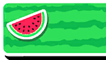 Watermelon Nameplate Skin Fall Guys
