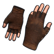 Rust Leather Gloves Skins