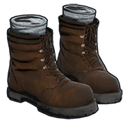 Rust Boots Skins